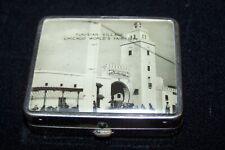 1933-1934 Chicago World's Fair Real Photo Compact A Century Of Progress Tunisian