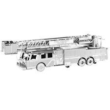 Fascinations Metal Earth 3D Steel Model Kit Fire Department Fire Engine Truck