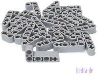 LEGO Technik - 20 x Liftarm 2x4 hellgrau 90 Grad / 32140 NEUWARE (L13)