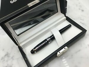 (JLC) Romet Asia Prototype Special Edition All Black Rollerball Pen silver Trim