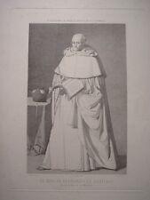 «Fray Fernando de Santiago, de la Orden de la Merced» según obra de Zurbarán.