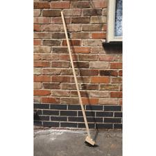 120cm Wooden Patio Outdoor Gardening Brush Long Wooden Handle Paving Scraper UK