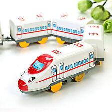 Xmas Gift Kids Children Electric Train Toy 5 Section Developmental Educational