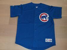 CHICAGO CUBS #22 PRIOR MAJESTIC MLB BASEBALL BLUE SEWN JERSEY MEN XL