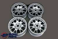 "BMW BBS Motorsport Silver Complete Set 4x Wheel Alloy Rim 18"" 8,5J ET:35 VIA"
