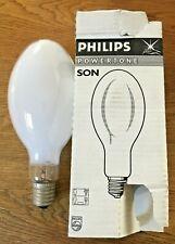 "Philips 400 watt SON-E ""E"" High Pressure Sodium Powertone Lamp E40 GES 28000 Hr"