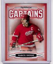 MARCEL DIONNE 06/07 Parkhurst CAPTAINS Insert Card #185 Detroit Red Wings /3999
