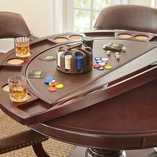Steve Silver TU5050GTTB Company Tournament Dining and Game Table - Brown NEW