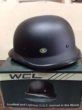 WCL German WORLD'S SMALLEST LIGHTEST DOT BEANIE HELMET MATTE BLACK  M