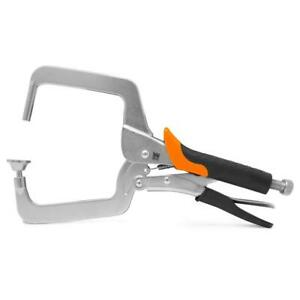 WEN Right Angle Clamp for Woodworking Pocket Hole Joinery Tool Accessory 4 Inch