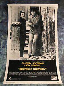 GFA Midnight Cowboy '69 Joe Buck * JON VOIGHT * Signed Movie 12x18 Photo J1 COA