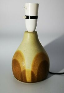 Small Shelf Pottery Halifax Table Lamp Base Vintage Retro