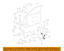 GM OEM Front Door-Rod Clip 16643104