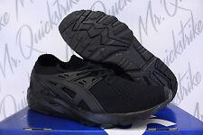 ASICS GEL KAYANO TRAINER KNIT SZ 10 BLACK H705N 9090