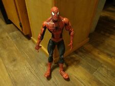 "2004 TOY BIZ--18"" SPIDERMAN FIGURE (LOOK) 67 POINTS OF ARTICULATION"