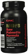 GNC Men's Saw Palmetto Formula - Supports Normal Prostate Function, 240 Tablets