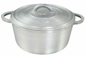 Aluminium Dutch Pot Sq Proessional Stew Heavy Duty Casserole Many Sizes & Sets