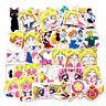 40Pcs Sailor Moon Stickers Japan Anime Character Printed Scrapbooking @ami okgo