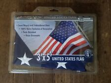 3'x5' Betsy Flags United States Flags Brass Grommets Nylon Sewn Embroidered