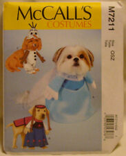 McCalls Sewing Pattern 7211~Crafts Dog Costume all sizes