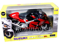 AUTOMAXX 600202 SUZUKI GSX 1300 R HAYABUSA BIKE MOTORCYCLE 1/12 BLACK / RED