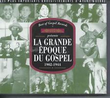 La Grande Epopée du Gospel Coffret 2 CD NEUF sous cellophane 44 titres