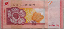 RM10 Zeti sign Replacement Note ZD 1116777