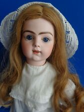 "23"" ANTIQUE KISSING BRU JNE FRENCH DOLL- BEAUTIFUL & RARE"