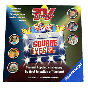 Ravensburger -TV Times Square Eyes The Game - Family Board Game 2004 | Complete