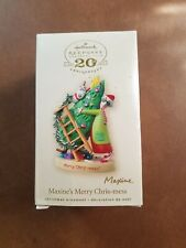 Hallmark Keepsake Christmas Ornament Maxine's Merry Chris-mess 2007 Signed