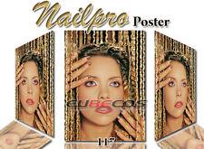 Poster Werbeplakat Naildeko Nailpro  Hochglanz Nr. 117