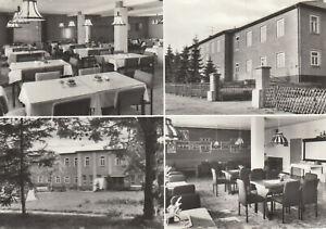 Postkarte Ansichtskarte Bärenstein/Erzgeb, Ferienheim, verschiedene Innenansicht
