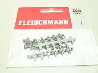 Fleischmann N 24x Isolierschienenverbinder 22214 NEU OVP