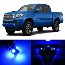 11 x Blue LED Interior Lights Package For 2016 - 2018 Toyota Tacoma + PRY TOOL