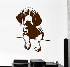Wall Vinyl Decal Dog Cute Puppy Animal Pets Amazing Living Room Decor z3902