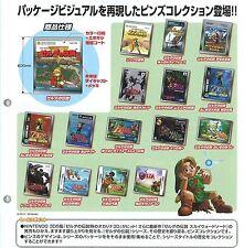 Legend of Zelda Historical Pin Badge Collection Set of 16 (2011) Japan Import