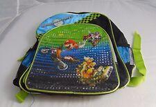 offical nintendo Mario Kart Wii Back Pack Kids / Teens Blue / Green