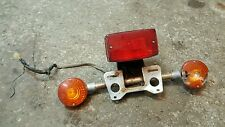 1981 Honda CB650 CB 650 rear tail light Assembly Tailight brake turn signals