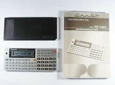 Sharp PC 1401 Pocket Computer BASIC voll funktionsfähig gut erhalten  #134