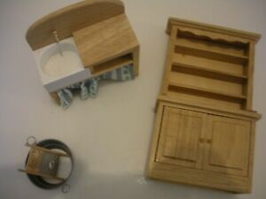Dolls House Furniture 1/12 Scale small kitchen lot