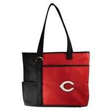 New MLB Gameday Tote Bag Purse Licensed CINCINNATI REDS Embroidered Logo