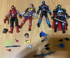 Power Rangers Lightning Collection Lot Of 4 Figures