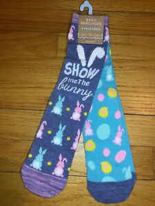 Easter Bunny Crew socks 2 Pairs