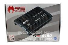 RE Audio SE 4150 SE Series 1600 Watts 4-Channel Class AB Car Audio Amplifier New