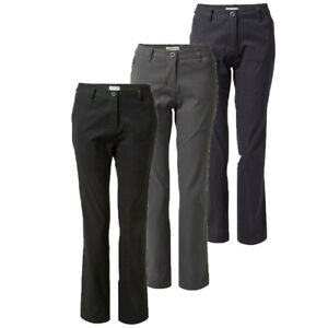 Craghoppers Womens Kiwi Pro II Stretch Hiking Golf Trousers CWJ1280 RRP £55