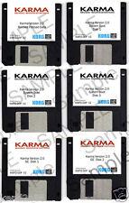 Korg Karma version OS update v2.0 (6 DISKS w/ updates, with preloads)