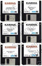 Korg Karma version OS update v2.0 (*FULL* 6 DISKETTES w/ updates, with preloads)