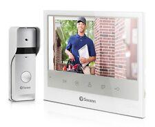 "Swann INTERCOM & VIDEO DOORPHONE 7"" LCD Monitor, Night Vision *Australian Brand"
