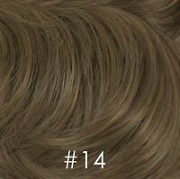 Pull-through Top Hair Wiglet Piece Thinning Crown Enhancer Add-On Integration