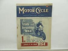 April 1948 THE MOTORCYCLE Magazine BSA Sunbeam Scramble 250 350 500 L8532